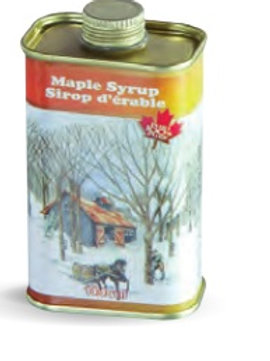 Maple Syrup Tin (2 Sizes)