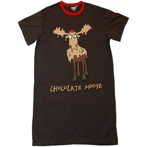 Sleep Shirt - Chocolate Moose
