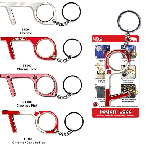 Touchless Tool Keychain