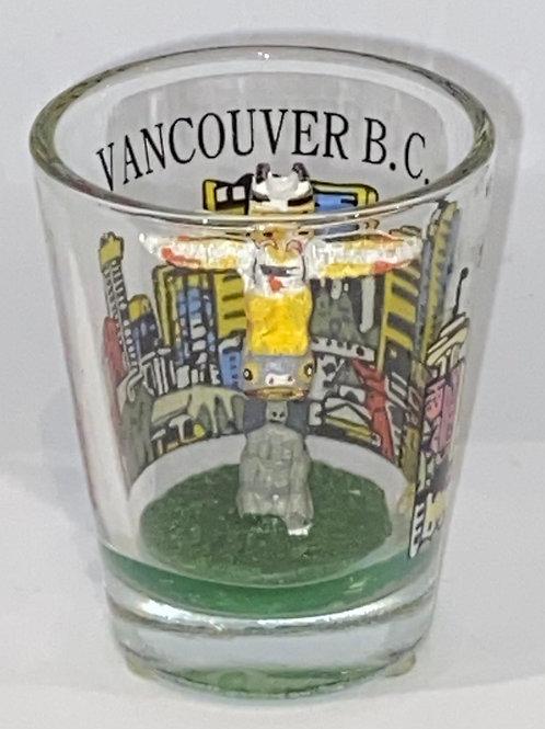 Totem Pole Vancouver Shot Glass