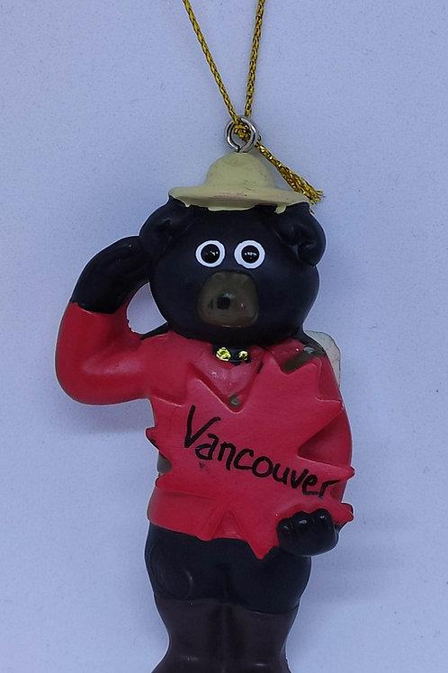 RCMP Black Bear Ornament