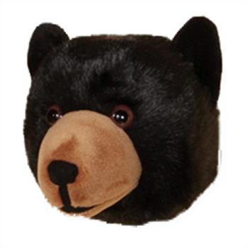 Wall Toy - Black Bear Head