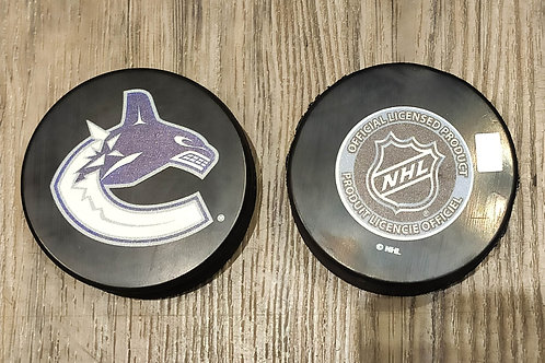 Canucks Puck