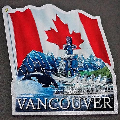 Wavy Canada Flag Magnet