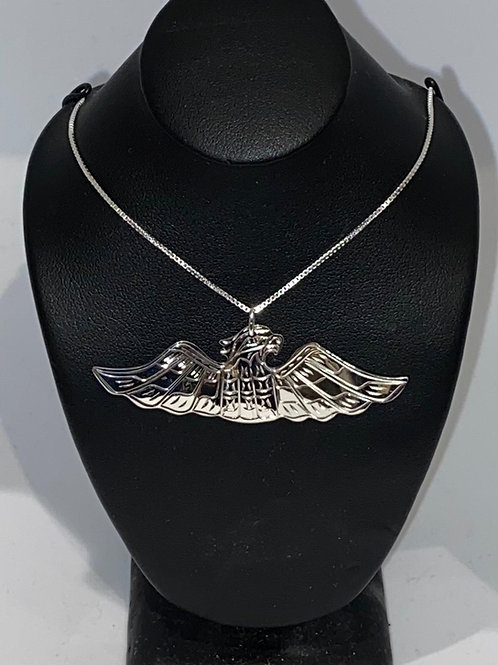 Eagle Pendant with Chain