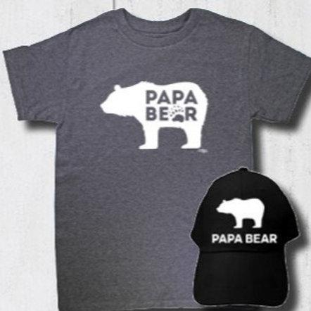 Papa Bear Family Tee