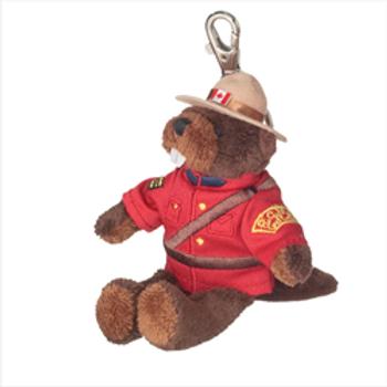 RCMP Beaver Zipper Pull