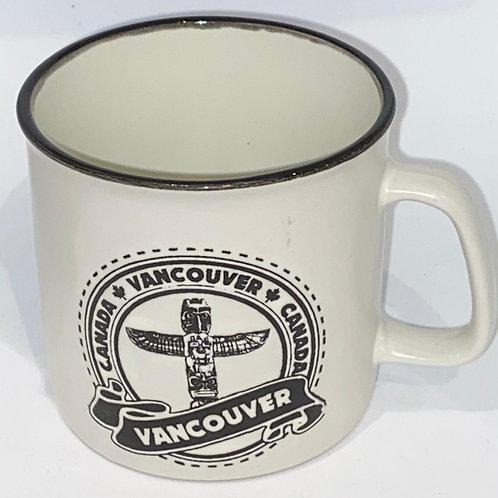 Vancouver (Camp style) Coffee Mug