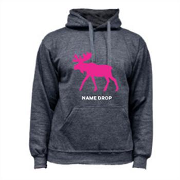 Pink Moose Hoody