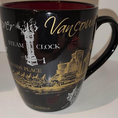 Landmarks of Vancouver Halo Mug