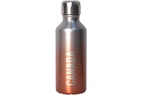 Insulated Pink Water Bottle