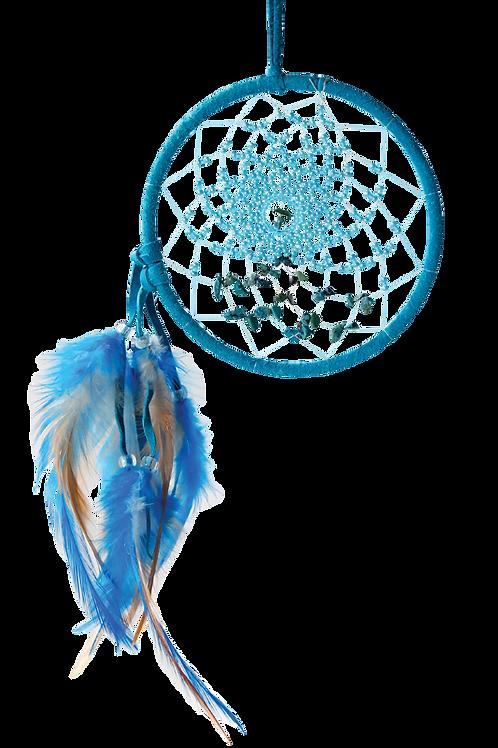 Energy Flow Dream Catcher (Turquoise)