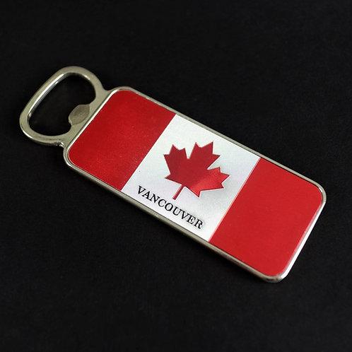 Canada Flag Bottle Opener