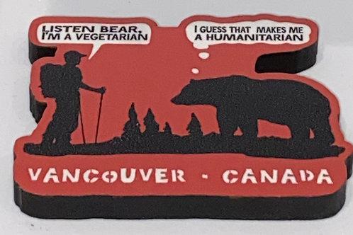 Humanitarian Magnet