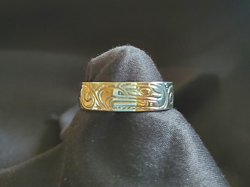 Eagle Ring - 1/4 Inch Wide