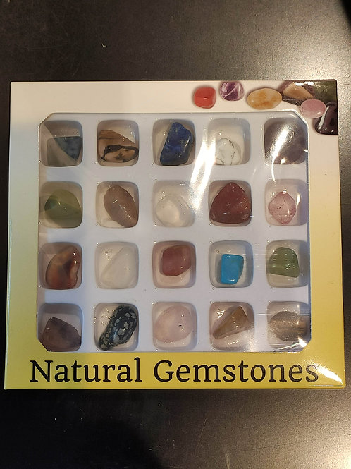 Box of Assorted Gemstones