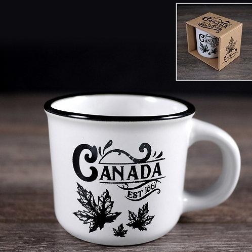 B&W Canada (Camp style) Coffee Mug
