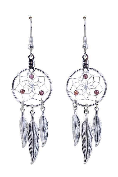 JANUARY - GARNET Birthstone DC Earrings