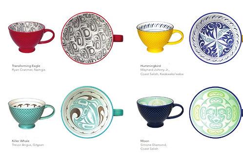 Porecelain Art Mugs