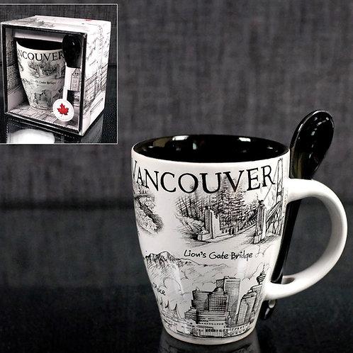 Scenes of Vancouver Mug