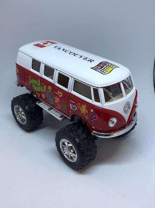 Microbus / Micro Bus w/ Monster Wheels