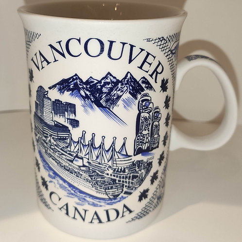 Ceramic History of Vancouver Mug