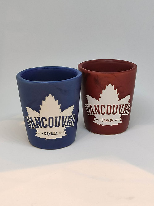 Marbled Ceramic ML Vancouver Shot Glass