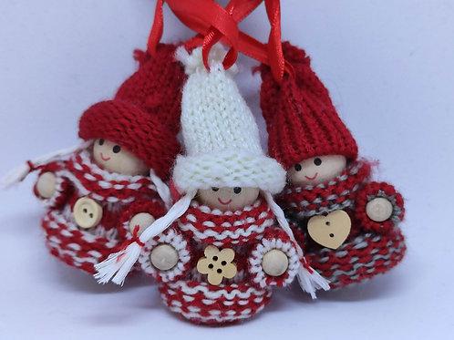 Sweater Trio Ornament