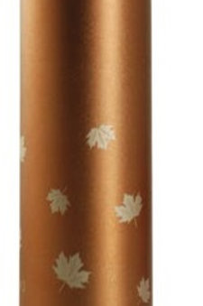 Gold Ice Maple Leaf Thermos