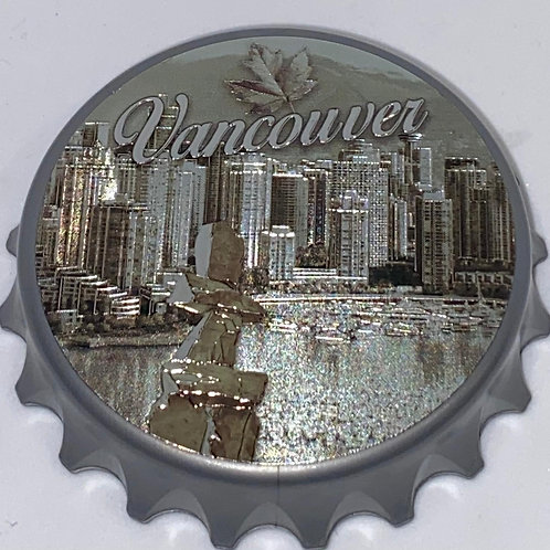 Coal Harbour (ABS) Bottle Opener Magnet