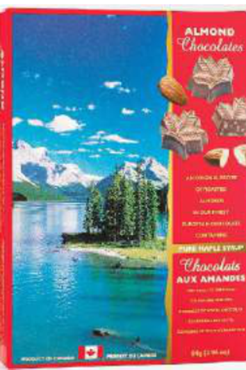Maple Almond Chocolates (90g)