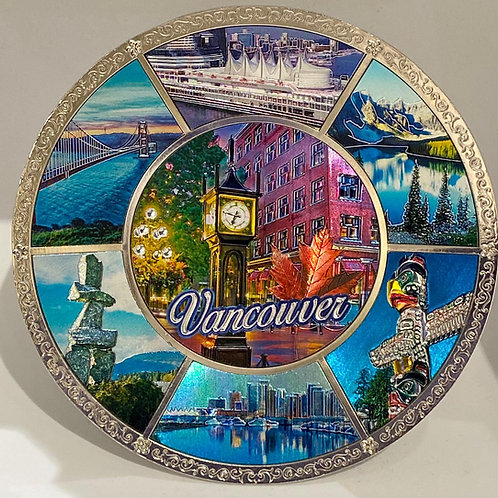 Metal Plate - Vancouver Scenes