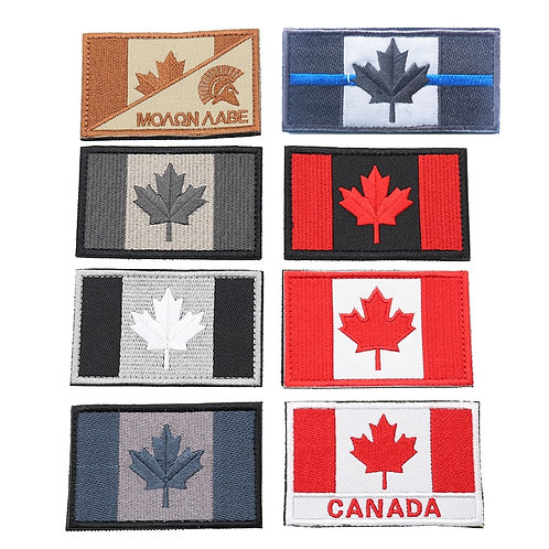 Canada Flag Flag Sew-On Patch
