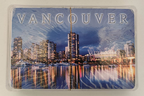 Vancouver Night Playing Cards