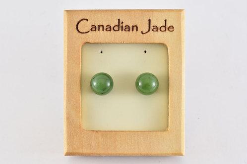 Jade Sphere (L) Earrings