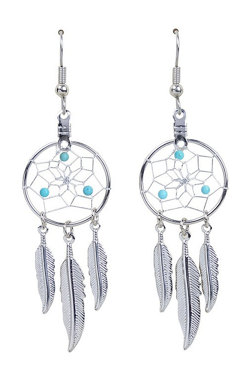 DECEMBER - TURQUOISE DC Earrings