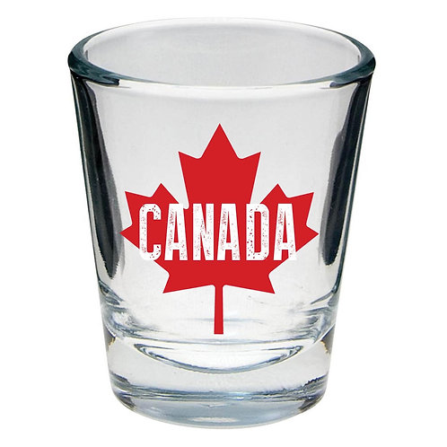 Canada ML Shot Glass