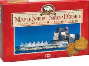Pure Maple Cream Cookies (Extra Cream) - BC Box
