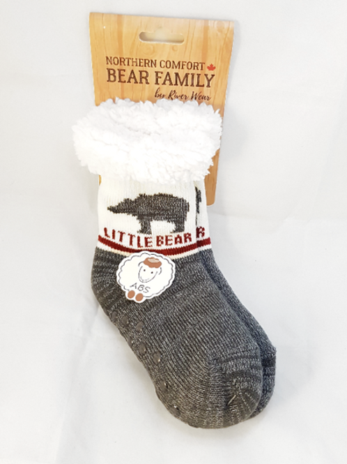 "Little Bear (Kids) ""Sherpa-Lined"" Socks"