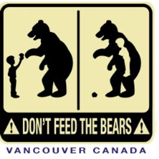 Don't Feed The Bears Adult T-Shirt