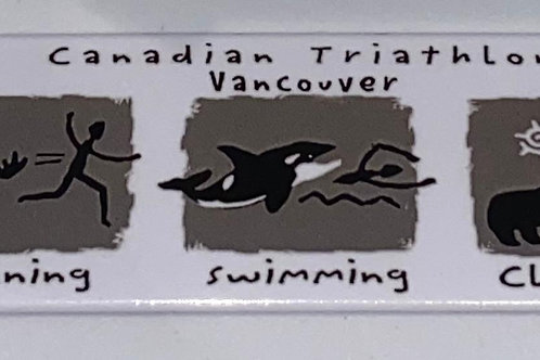 Triathlon Magnet