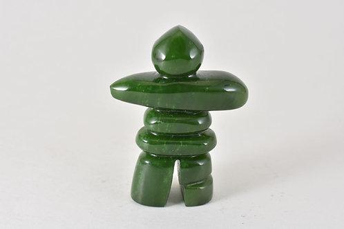 Jade Inukshuk - Solid