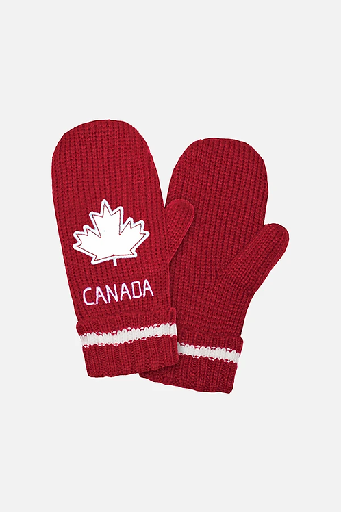 Canadian Chunky Mitts