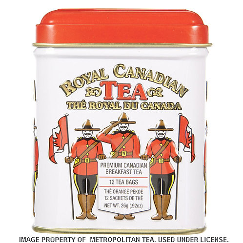 Canadian (English) Breakfast Tea in a Tin Can (12 bags)