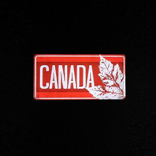 Canada Foil Plate