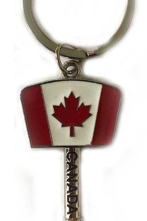"""Canada Flag """"KEY"""" Keychain"""