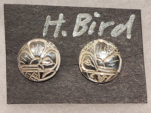 Humming Bird Stud Earrings