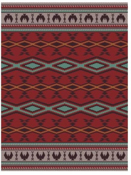 Woven Blanket - Spirit of the Sky