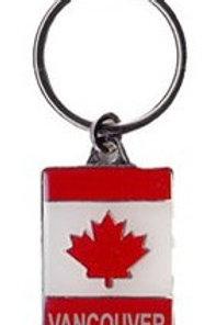 Canada Flag Wavy w/ Vancouver