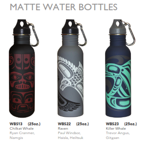 Matte Water Bottle - 25 oz